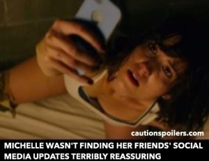 Michelle wasn't finding her friends' social media updates terribly reassuring