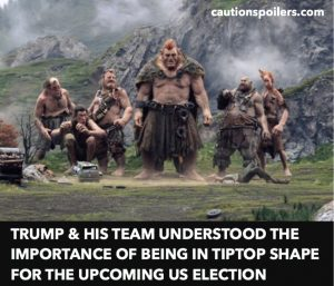 Trump and his team understood the importance of being in tiptop shape for the upcoming US election