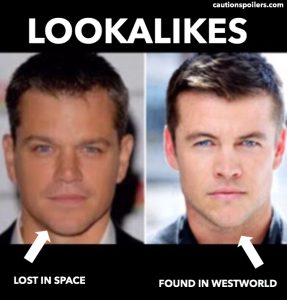 Lookalikes - Matt Damon and Luke Hemsworth
