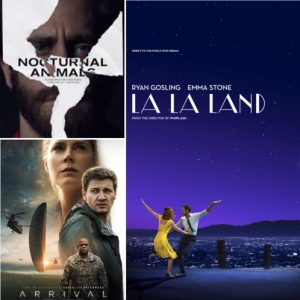 Arrival, La La Land and Nocturnal Animals have the most BAFTA nominations