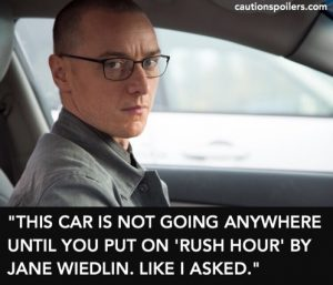 """""""This car is not going anywhere til you put on Rush Hour by Jane Wiedlin. Like I asked"""""""
