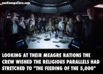 Alien: Covenant – The Crew Are Having A Last Supper, Cue Gods & Monsters