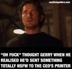If Gerard Butler Worked In My Office