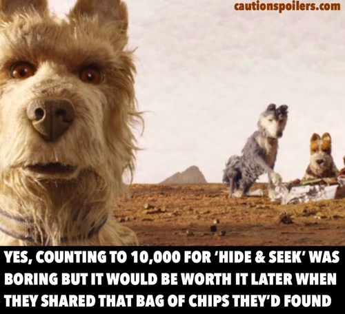 Isle Of Dogs Caution Spoilers