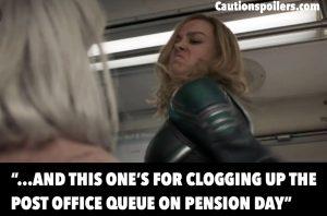 First Captain Marvel Trailer – Old Ladies, Don't Get On Her Bad Side!