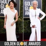 Golden Globes: Winners, Dresses, Dresses, Dresses And ONE CAPE