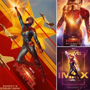 Carol Goes Grunge In New Captain Marvel Teaser Plus Featurette & Posters