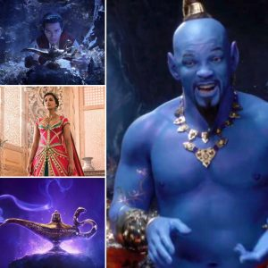 There's a new Aladdin trailer and I'm dyeing