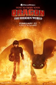 I'm burning up! NEW cast interviews, poster for How To Train Your Dragon 3