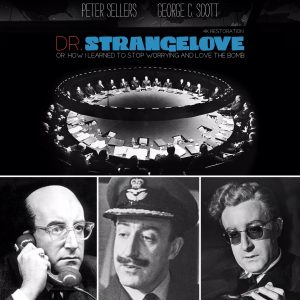 Dr Strangelove, back with a 4k restoration and probably Twitter's longest ever hashtag
