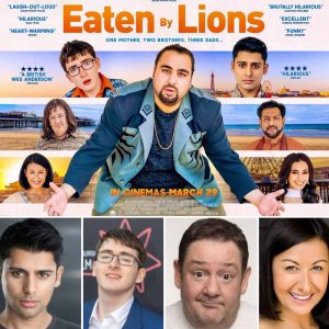 Eaten By Lions INTERVIEWS: Antonio Aakeel, Johnny Vegas, Jack Carroll, Hayley Tamaddon, and more!