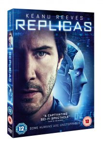"Keanu's cloning quandary ""Replicas"" finally hits the UK"