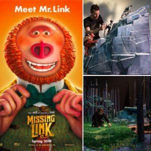 Missing Link – interviews, film clips, featurette, set images