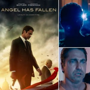 Banning battles to clear his name in Angel Has Fallen's NEW international trailer